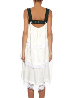 Harness lace-trimmed tiered dress   Vivienne Westwood Red Label   MATCHESFASHION.COM