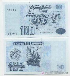 Argelia, 100 dinares 1992