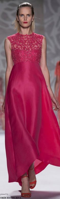 #NYFW Monique L'huillier Spring 2014 RTW http://www.nytimes.com/fashion