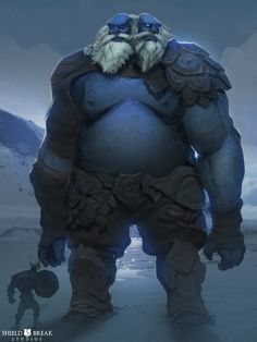 Frost Giant 2 - BIERZERKERS, Alex Konstad on ArtStation at https://www.artstation.com/artwork/frost-giant-2-bierzerkers