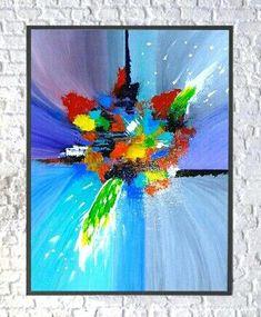"Acrylic Abstract Painting ""CELEBRATION 2.0"" by Tari"