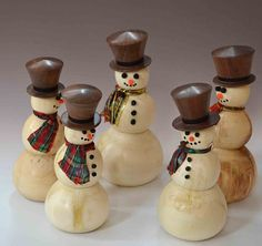 turned christmas ornaments - Google Search