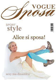 copertina sposi tipo rivista famosa