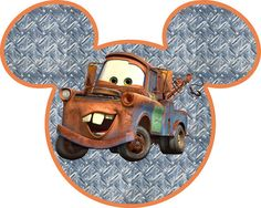 Perfect for creating iron transfer T-shirts! All Cars characters!