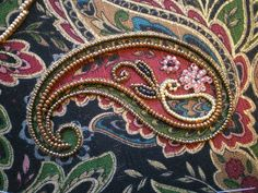 Threads Across the Web: Japanese Bead Embroidery.
