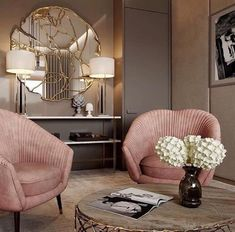 38 Ideas For Apartment Living Room Design Ideas Chairs Art Deco Living Room, Design Living Room, Glamour Living Room, Living Rooms, Home Design, Home Interior Design, Luxury Interior, Interior Designing, Design Hotel