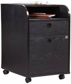 Enitial Lab Ace File Cabinet with Rolling Casters, Black by Enitial Lab Inc. $126.01. Product materials include medium fiber board, veneers, Black finish frame. Measures 16.3-Inch wide by 21-Inch deep by 25.3-Inch high. File cabinet includes bars to hang office files; 4-carpet casters for easy mobility. File cabinet has single right side lock with accessible key. Practical file cabinet features 1-open, 1-drawer and a spacious bottom file cabinet for all your filing need. The...