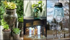 A country staple, traditional mason jars have been around a long time - for over 150 years in fact! The last few years, however, have seen a huge upsurge in the number of mason jars Pot Mason Diy, Mason Jars, Mason Jar Crafts, Diy Butterfly, Glass Butterfly, Butterfly Feeder, Citronella Candles, Oil Candles, Garden Front Of House