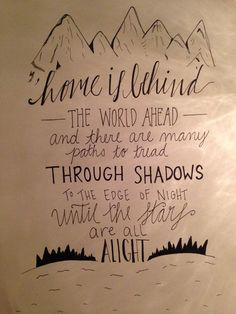 Image result for lord of the rings quote calligraphy