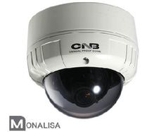 CNB VCM-24VF 600TVL 2.8-10.5mm Vandal Proof Outdoor Day/Night Dome Security Camera with ICR Technology by CNB. $165.99. CNB VCM-24VF 600TVL 2.8-10.5mm Vandal Proof Outdoor Day/Night Dome Security Camera is from the amazing new line of Monalisa cameras. The CNB VCM-24VF produces high resolution crisp images of 600TVL in color and an astonishing 650tvl in B/W. The CNB VCM-24VF utilizes Super Digital Noise Reduction (SDNR) and ICR technology for a true day/night secu...