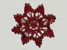 Hey, I found this really awesome Etsy listing at https://www.etsy.com/listing/207637329/crocheted-bordeaux-doily-christmas-doily