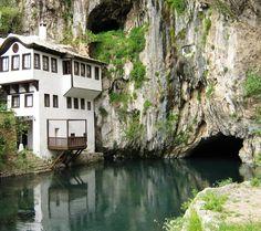 Wagon wheel - Blagaj Tekke Monastery @ Bosnia Herzegovina
