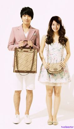 Jung Yong Hwa Park Shin Hye Heartstrings Come visit kpopcity.net for the largest discount fashion store in the world!!