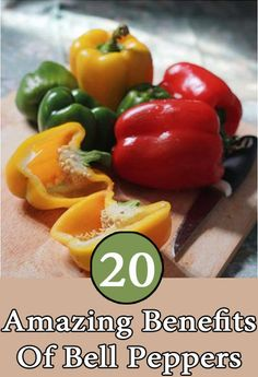 20 Amazing Health Benefits Of Bell Peppers