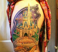 Disney Magic Kingdom Castle by Hannah Bedwell