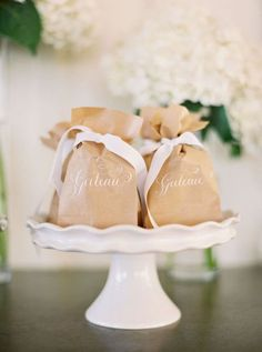 wedding-invitations-favors-brown-bag - Once Wed Wedding Favours, Party Favors, Wedding Invitations, Shower Favors, Party Bags, Shower Invitations, Wedding Stationery, Unconventional Wedding Cake, Wedding Cake Toppers