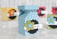 Stampin Up Swap Swaps Box Verpackung Schachtel Goodie Give Away 046