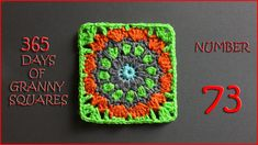 365 Days of Granny Squares Number 73