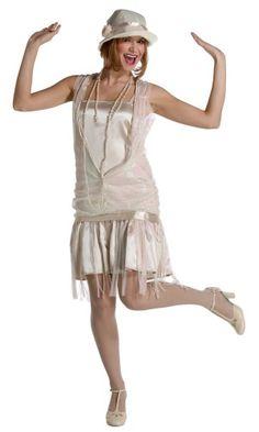Декорирование платья в стиле 30-х годов