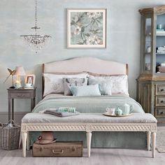 Duck egg and pink bedroom | Duck Egg bedrooms | housetohome.co.uk
