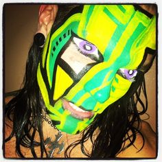 TNA Impact Zone - 10 Jan 2013 Wwe Jeff Hardy, Cool Face, Creatures Of The Night, Face Paintings, Wrestling, Boys, Instagram Posts, Sports, Youtube
