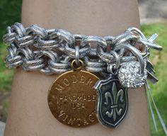 John Wind Maximal Art Charm Bracelet at Annette's Touch of Class.