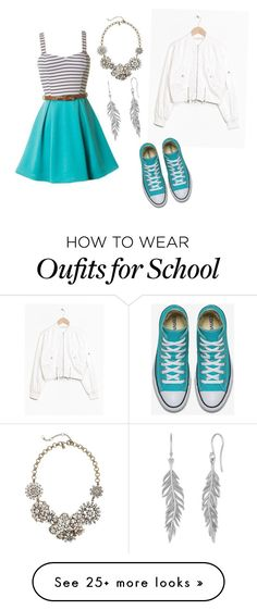 """""""More fancy outfit for school"""" by carissac28 on Polyvore featuring J.Crew"""