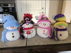 DIY~Adorable Dollar Tree Toddler Sock Snowmen or Snow babies! No Sew! - YouTube
