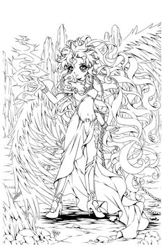 254 Best Anime Lineart Images Anime Lineart Coloring Books