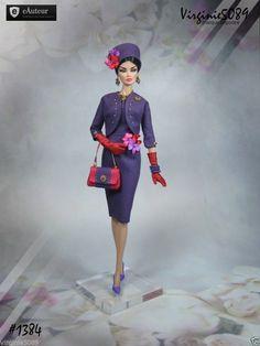 Tenue Outfit Accessoires Pour Fashion Royalty Barbie Silkstone Vintage 1384 | eBay