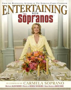 Entertaining With The Sopranos - Carmela Soprano in wcjr's Book Collector Connect collection