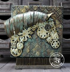 a steampunk style horse ~ Cupcake's Creations