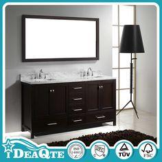 Solid Wooden PVC Cheap Single Bathroom Vanity