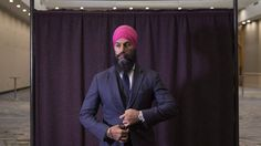 Canada's Jagmeet Singh says he wants to 'make people's lives better'