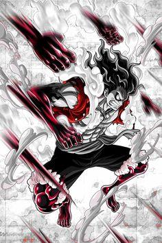 Luffy Gears four
