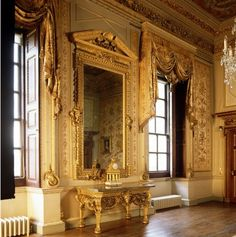 Houghton Hall. The White Drawing Room.
