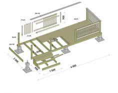 Terassin rakentaminen onnistuu hyvillä ohjeilla. Tiiviin ja routimattoman maan perustukseksi riittää pilariharkkoperustus. Katso Meidän talon ohjeet ja rakenna terassi itse.