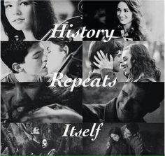 Teen Wolf • Derek and Paige • Scott and Alison:-(  :-( :-(