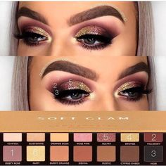 Aloof Cool Makeup Brushes Coole Make-up Pinsel Glam Makeup, Makeup Inspo, Eyeshadow Makeup, Makeup Inspiration, Makeup Brushes, Eyeshadows, Beauty Makeup, Dark Eyeshadow, Drugstore Makeup