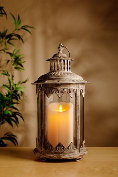 Gallery page for Luminara real wax candles | Photos of flame effect