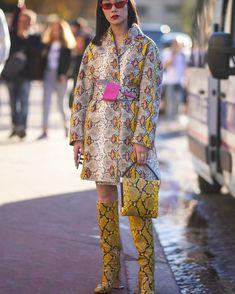 "3cdb02366d StreeTrends on Instagram  ""📸   thestreetvibe Paris Fashion Week SS19"""