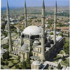 Selimiye Mosque in Edirne, Turkey