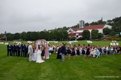 Mackinac Island wedding Mission Point Resort Maggie Sottero, Vintage Glam on…