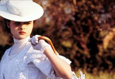 "Helena Bonham Carter as Lucy Honeychurch in Merchant & Ivory's ""A Room with a View"""