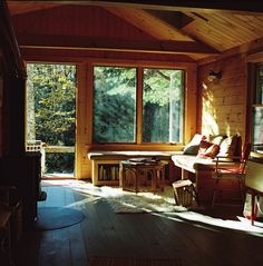 Would love to have a cabin somewhere to get away for the weekends....wouldn't that be heavenly??