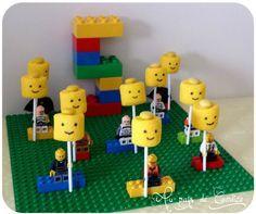 Jeux, goûter et invitation pour un anniversaire Lego - Au pays de Candice #lego …