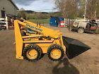 MUSTANG OMC 310  SKID STEER LOADER SNOW PLOW BOB CAT RUBBER TIRE LOADER TRACTOR