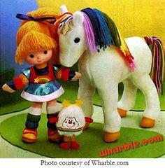 Rainbow Brite was my favorite between her and Strawberry Shortcake.
