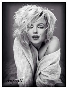 #Marilyn Monroe|Beautiful marilyn, seems like an updated hairstyle but I love it!