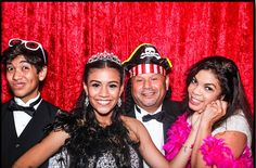 Discover the different ways of decorating your party or events with the help of photo booth party creative ideas and Photo booths services for quince at affordable prices.